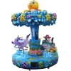 China Water recreation facilities Five seats ocean carousel for sale