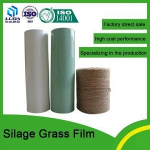 China Silage Film 250mm width silage bale wrap on sale