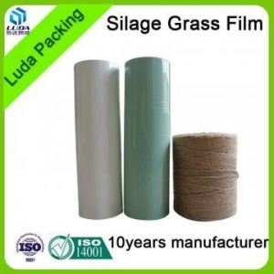 China bales of silage for sale white width bale wrapping film black width agriculture silage film on sale