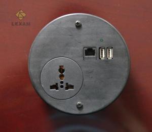China Surge Protection Circular Power StripSingle Way Universal Socket For Safe on sale