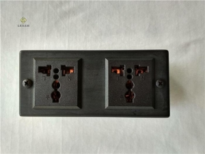 China 2 Outlet Surge Protected Gun Vault Accessories220 Volt Support USB Plug on sale