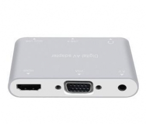 China Mobile phone to hdmi + VGA + AV switch multi-function on sale