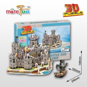 China M-3011 Medieval Castle and Pirate Ship on sale