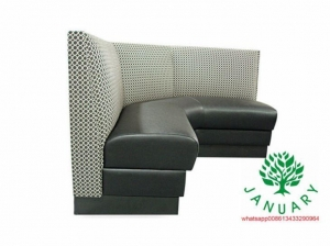 China Curve corner booth in restaurant on sale