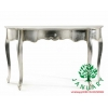 China Luxurious Wooden Silver Console Table for sale