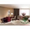 China Sapele Veneer Finished Cheap Bedroom Furniture Sets for Inn Motel Guestroom for sale