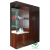 China hotel build in wooden mini bar cabinet for sale