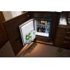 China Contemporary Wooden Mini Bar Cabinet Stand with Modern Fridge for Executive Suite for sale
