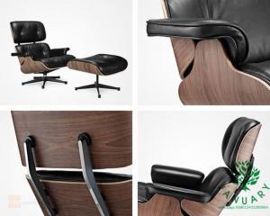 China Modern Eames Lounge Chair and Ottoman Original Design on sale
