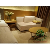 Beech Wood Fitted Hotel Bedroom Furniture Sets for Star Hospitality Resort