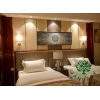 China Mahogany Finishing Bed Dresser Tables and Chairs Furniture for Holiday Hotels for sale