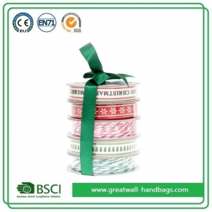 China Wholesale Custom Christmas Ribbon Suppliers on sale