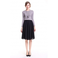 Fold The Pleated Skirt For Women