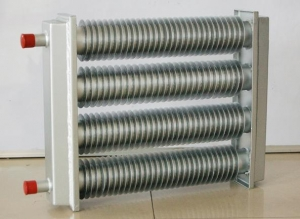 China Fin tube radiator series Ladder type water bo Ladder type water box - fin tube radiator industry on sale