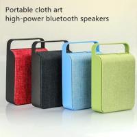Cloth bluetooth speakers