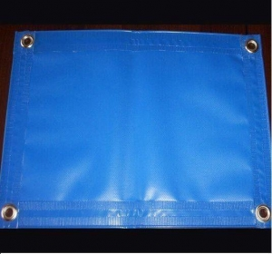 China PVC Laminated Double Sides Waterproof Pvc TarpaulinWith High Bonding Strength on sale