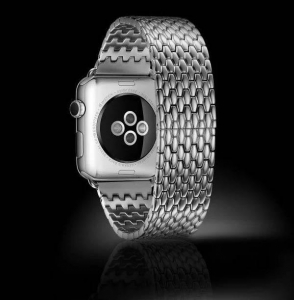 China iCarer Armor Electroplating Stainless Steel Watchband Series For Apple Watch on sale