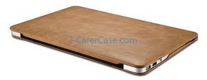 China iCarer MacBook Air 11 inch Vintage Book Style Slim Folio Case on sale