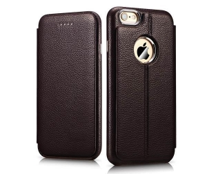 China iCarer iPhone 6/ 6S Transformers Litchi Pattern Series Side Open Leather Wallet Case Cover on sale
