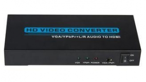 China VGA / Ypbpr to HDMI Converter Video Converter Box Compatible With DVI on sale