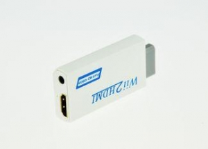 China Small Wii Converter To Hdmi Support Video and Audio In Full Digital HDMI Format on sale