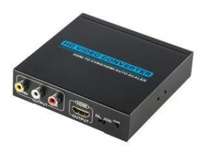 China HDMI to CVBS / HDMI Converter With Auto Scaler for TV VCR DVD Recorder on sale