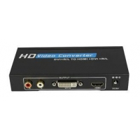 China DVI-D to HDMI Converter , HD VGA Video Converter Support DVI / Audio Input HDMI Output on sale