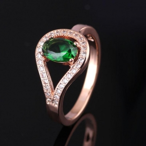 China Sterling Silver Engagement Ring Wedding Ring Jewelers For Women on sale