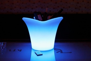 China large ice bucket-- LED clear ice on sale
