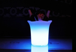 China led small ice bucket on sale