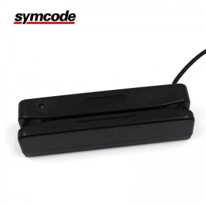 China Portable Bidirectional Swipe Magnetic Card Reader USB Programmable Compatible on sale