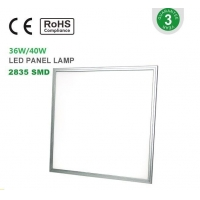 ETL/CE/UL/CUL/DLC LED Panel CE RoHs 600*600 36W/40W LED Panel Lamp factroy