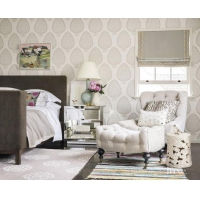 China Bedroom Chair With Ottoman on sale