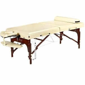 China Master Massage Saxon LX Therma Top Memory Foam Portable Massage Table Package, 30 Inch on sale