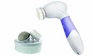 China Vanity Planet Spin for Perfect Skin Face & Body Cleansing Brush, Lavender on sale