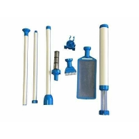 Hot Tub Spa Pool Handheld Manual Vacuum Cleaner with Pump Filter and Brush