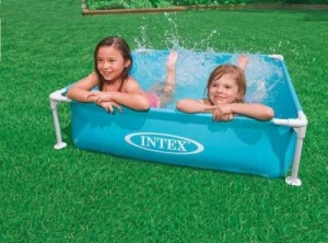 China Intex Mini Frame Pool, Blue on sale