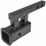 Titan 1.25 to 2 Rise or Drop Trailer Hitch Towing Extension Adapter