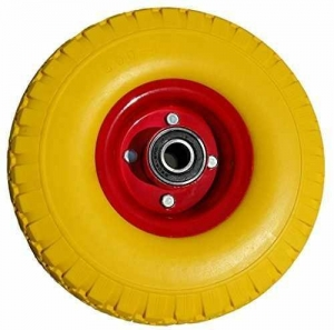 China 3.00-4 Flat Free Tire Hand Truck Wheel 10 inch wholesale