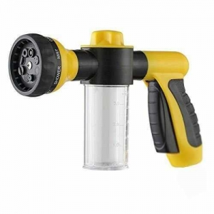 China Buyplus Garden Hose Nozzle Foam Car Washer Soup Water Gun with 8 adjustable Pattern on sale
