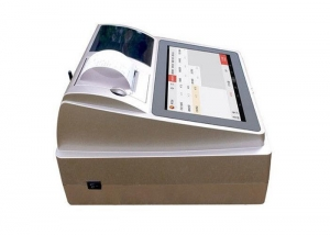 China Touch Screen Android POS System Tablet Cash Register With Bill Printer For Small Business on sale