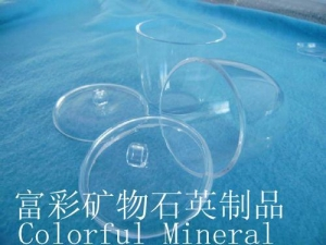 China Clear Transparent Fused Silica Crucible on sale
