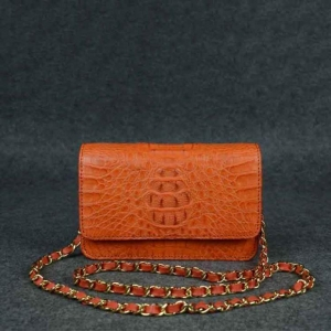 China Hot sell Crocodile leather Crossbody wallet Chain bags on sale