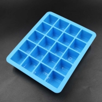 Silicone Fashion Products 20 Hole Quadrate Silica Gel Ice Mould