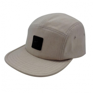 China Mens Solid Color Faux Suede 5 Panel Unstructured Embroidery Logo Snapback Hat on sale
