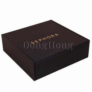 China Black Lacquered Comb Packaging MDF Box on sale