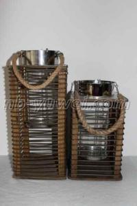 China Bamboo Rattan Lantern yw-01 on sale