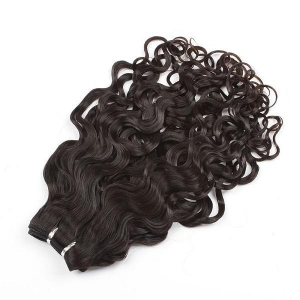 China hair extension Virgin Brazilian curly weave on sale