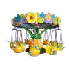 China New Rides Flower Flying Chair Flower Flying Chair for sale