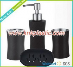 China Stainless Steel Bathrooms Accessories, Black Out Design Metal Bathrooms Accessories on sale